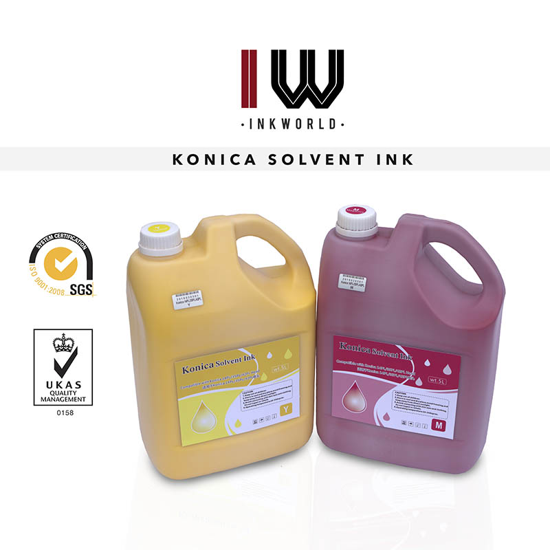 Solvent Ink for Konica 14PL/35PL/42PL 5L